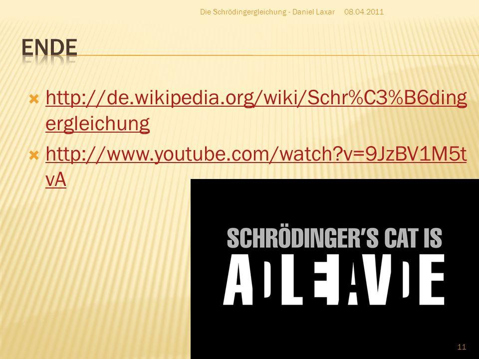 Was besagt Schrödingers Gedankenexperiment.Das die Katze tot und lebendig ist.
