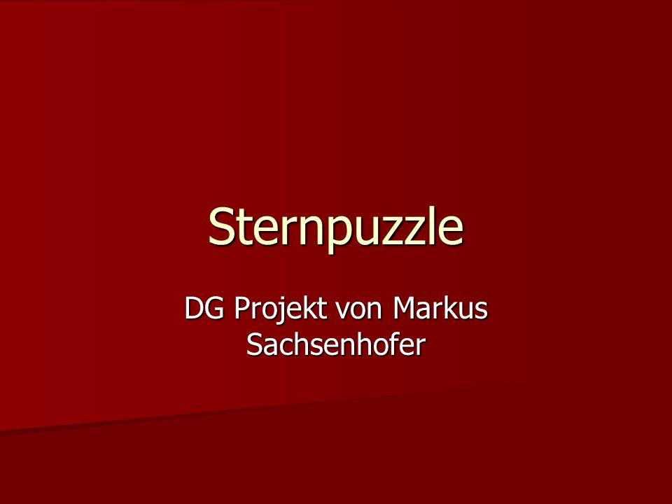 Sternpuzzle DG Projekt von Markus Sachsenhofer