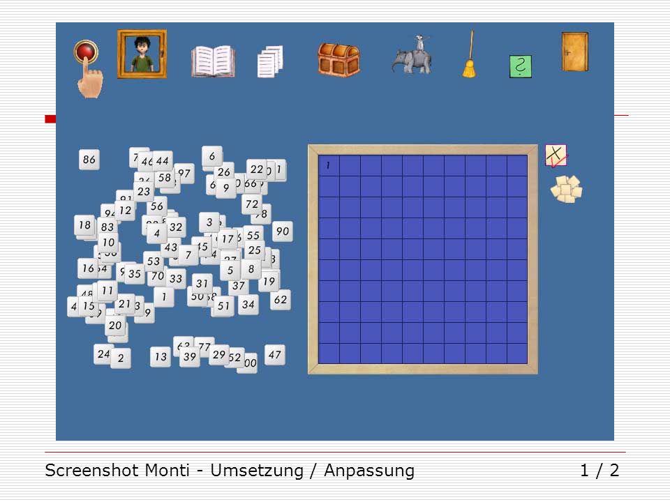 Screenshot Monti - Umsetzung / Anpassung1 / 2