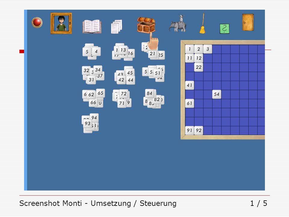Screenshot Monti - Umsetzung / Steuerung1 / 5