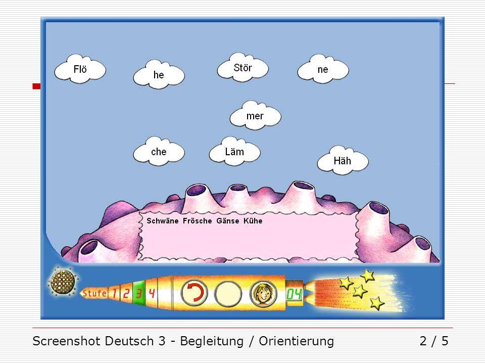 Screenshot Deutsch 3 - Begleitung / Orientierung2 / 5