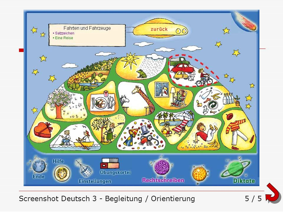 Screenshot Deutsch 3 - Begleitung / Orientierung5 / 5