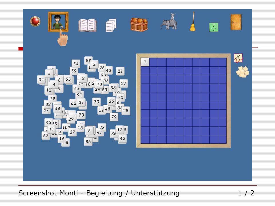 Screenshot Monti - Begleitung / Unterstützung1 / 2