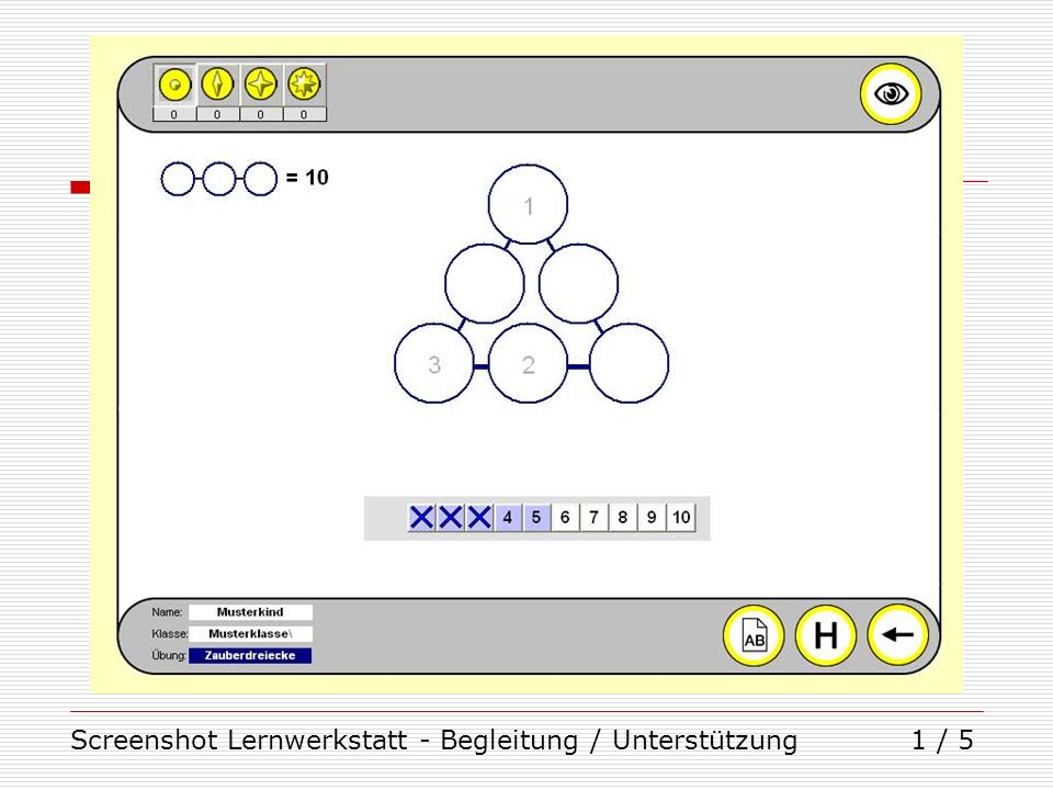 Screenshot Lernwerkstatt - Begleitung / Unterstützung1 / 5