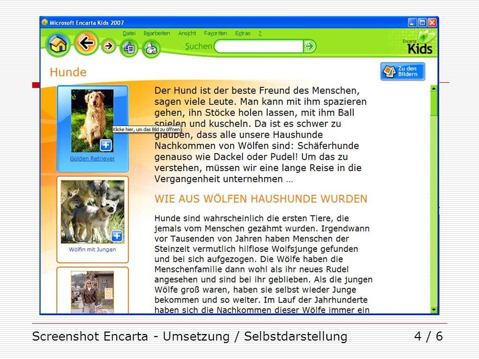 Screenshot Lernwerkstatt - Anwendung / Uebertragung1 / 1