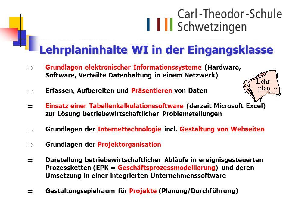 Grundlagen elektronischer Informationssysteme (Hardware, Software, Verteilte Datenhaltung in einem Netzwerk) Erfassen, Aufbereiten und Präsentieren vo