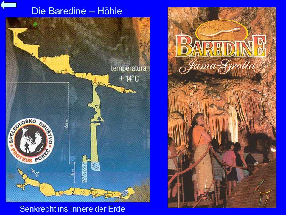Die Baredine – Höhle Senkrecht ins Innere der Erde