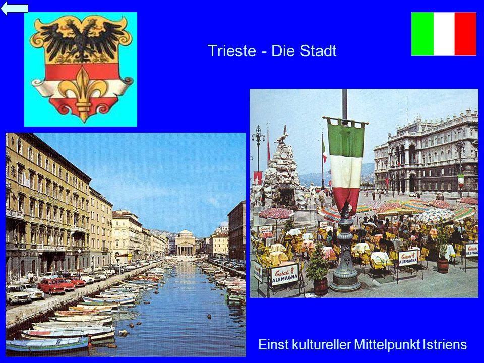 Trieste - Die Stadt Einst kultureller Mittelpunkt Istriens