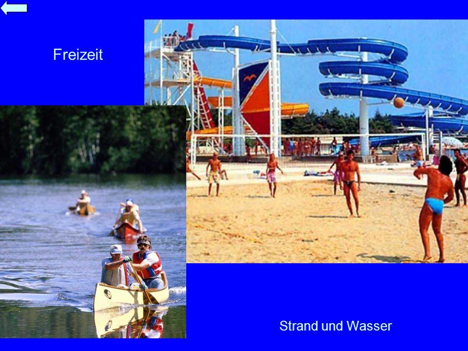 Strand und Wasser Freizeit