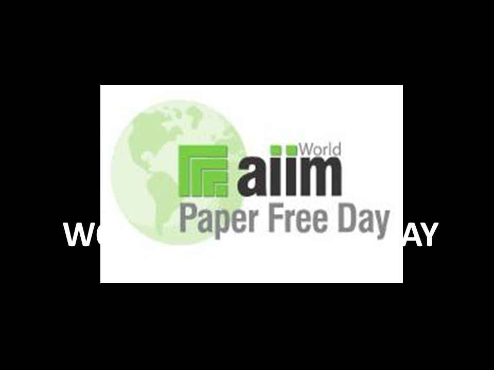 H EUTE IST #WPFD WORLD PAPER FREE DAY