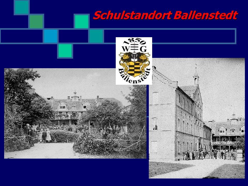 Gymnasium Ballenstedt ab 2007