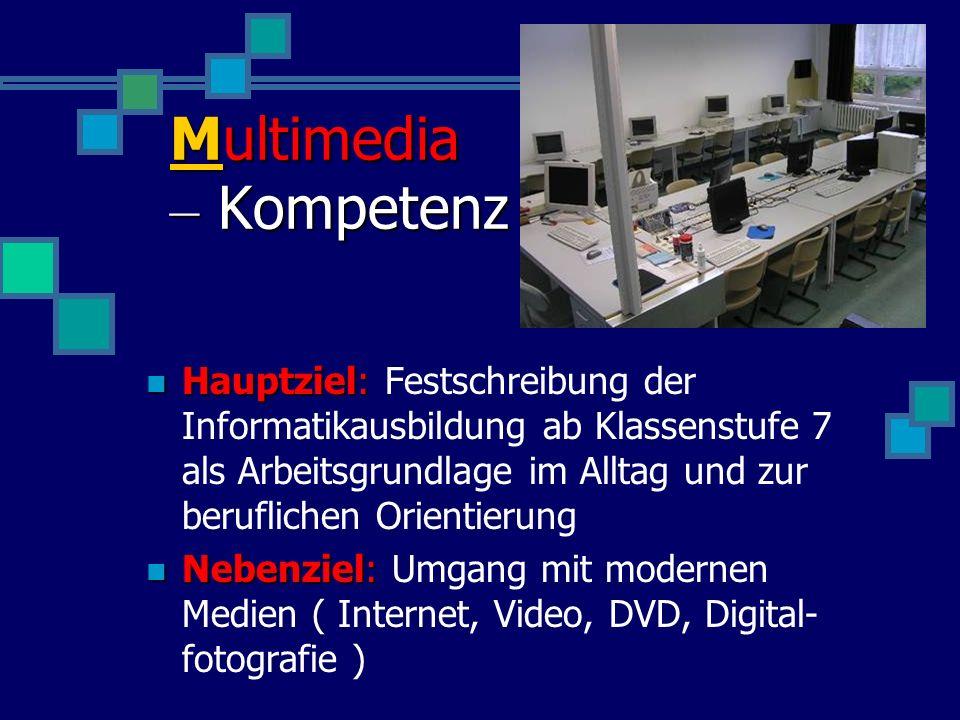 Wolterstorff-Gymnasium Ballenstedt Multimedia