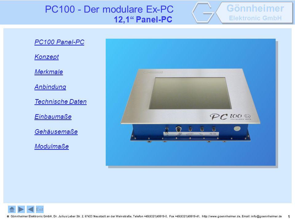 1 Gönnheimer Elektronic GmbH, Dr. Julius Leber Str. 2, 67433 Neustadt an der Weinstraße, Telefon +49(6321)49919-0, Fax +49(6321)49919-41, http://www.g