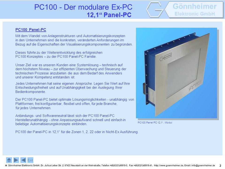 2 Gönnheimer Elektronic GmbH, Dr. Julius Leber Str. 2, 67433 Neustadt an der Weinstraße, Telefon +49(6321)49919-0, Fax +49(6321)49919-41, http://www.g