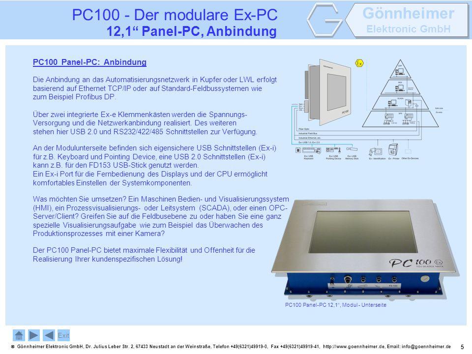 5 Gönnheimer Elektronic GmbH, Dr. Julius Leber Str. 2, 67433 Neustadt an der Weinstraße, Telefon +49(6321)49919-0, Fax +49(6321)49919-41, http://www.g