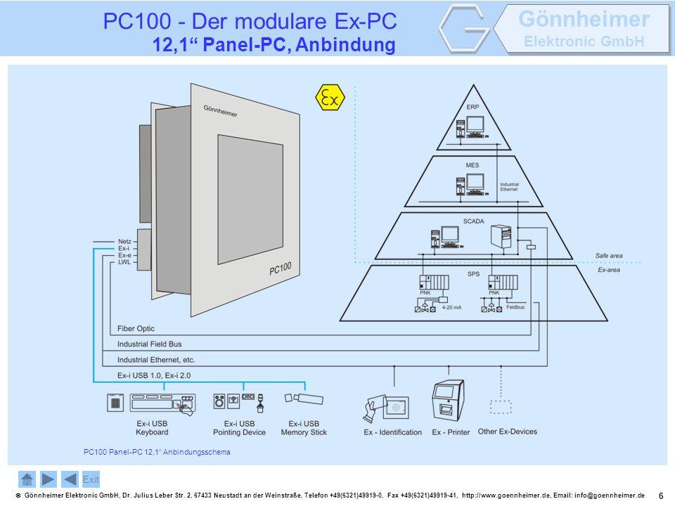 6 Gönnheimer Elektronic GmbH, Dr. Julius Leber Str. 2, 67433 Neustadt an der Weinstraße, Telefon +49(6321)49919-0, Fax +49(6321)49919-41, http://www.g