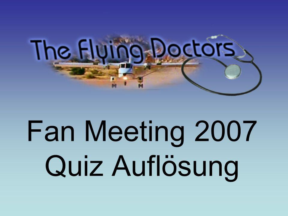 Fan Meeting 2007 Quiz Auflösung