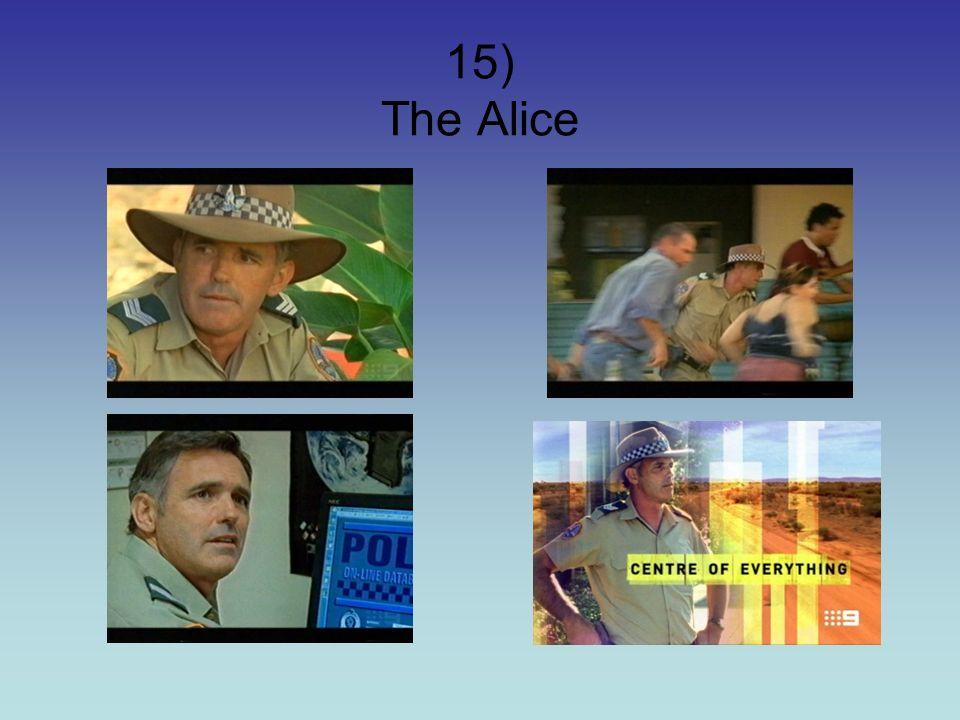 15) The Alice