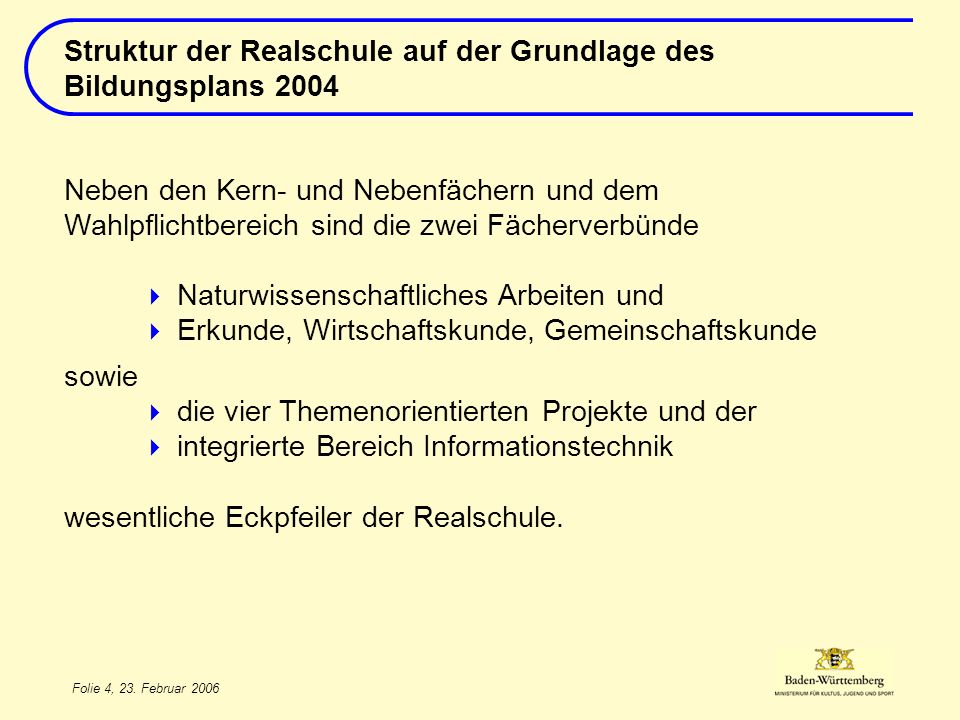 Folie 5, 23.Februar 2006 Deutsch Mathematik 1.