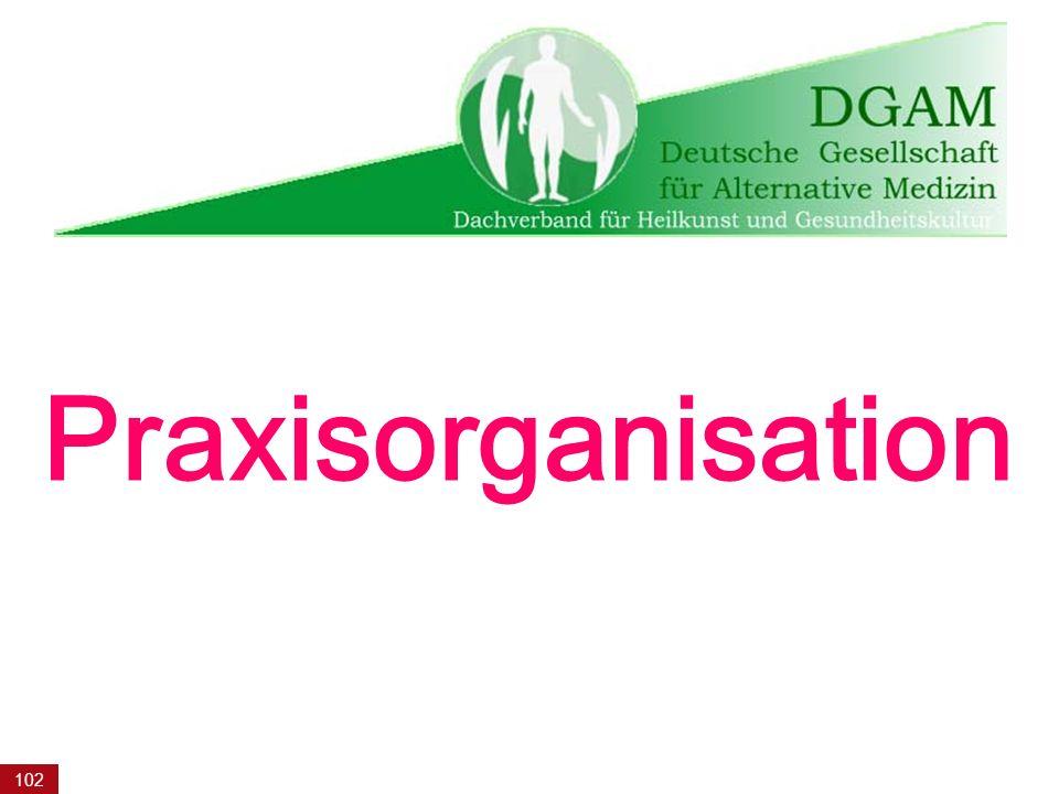 102 Praxisorganisation