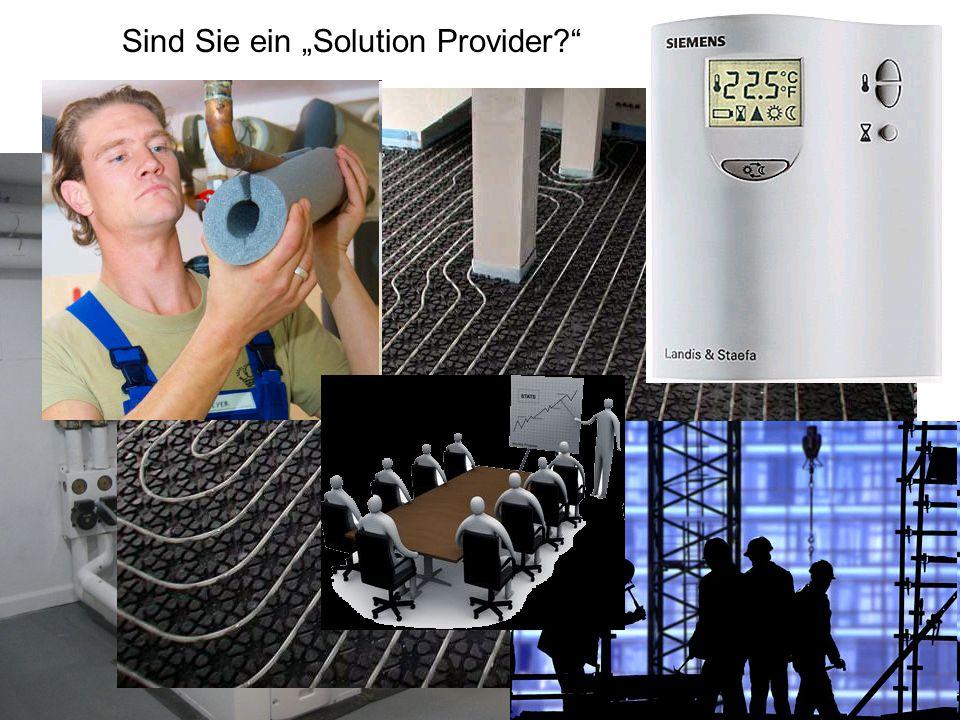 Sind Sie ein Solution Provider