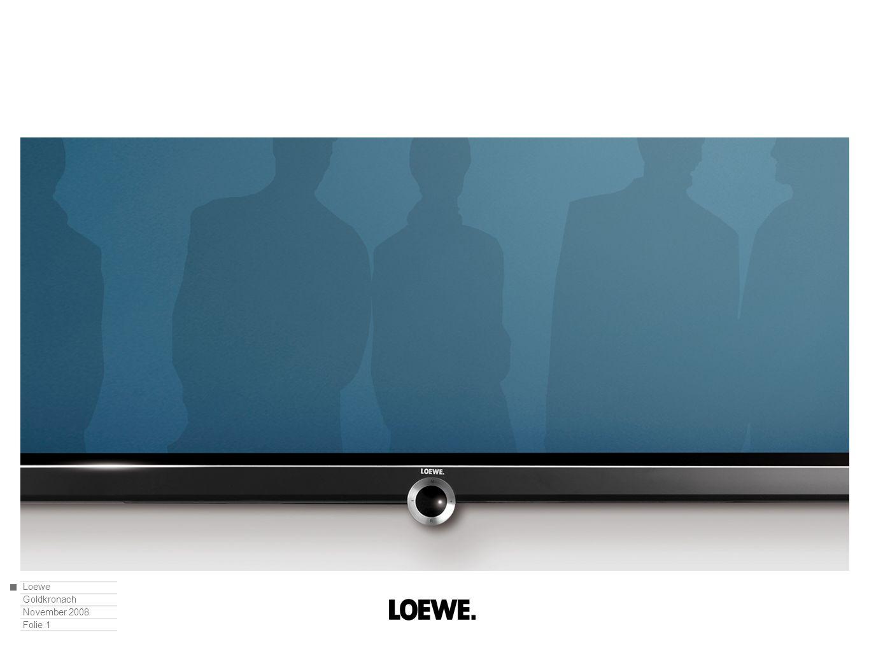 Loewe Goldkronach November 2008 Folie 2 Globalisierung aus der Sicht eines Unternehmens – das Beispiel der Loewe AG.