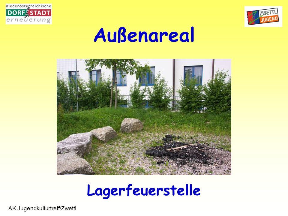 AK Jugendkulturtreff/Zwettl Lagerfeuerstelle Außenareal