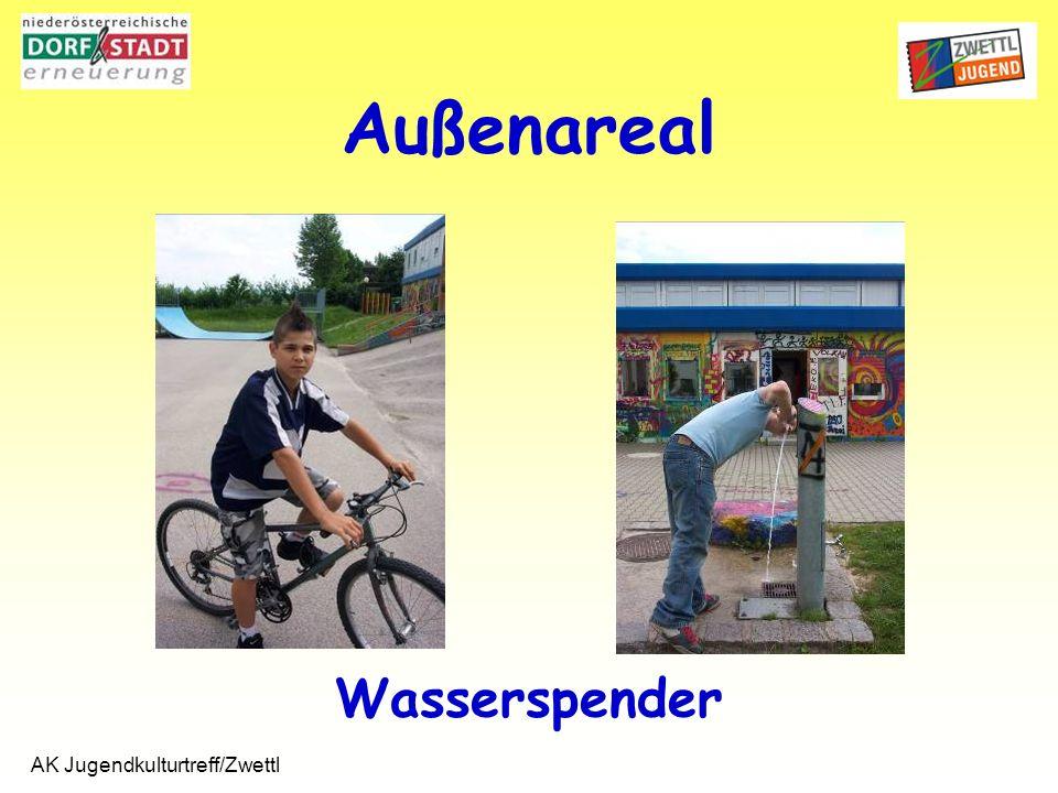 AK Jugendkulturtreff/Zwettl Wasserspender Außenareal