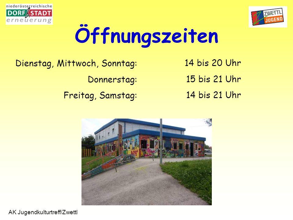 AK Jugendkulturtreff/Zwettl Sprayaktion Hausbemalung