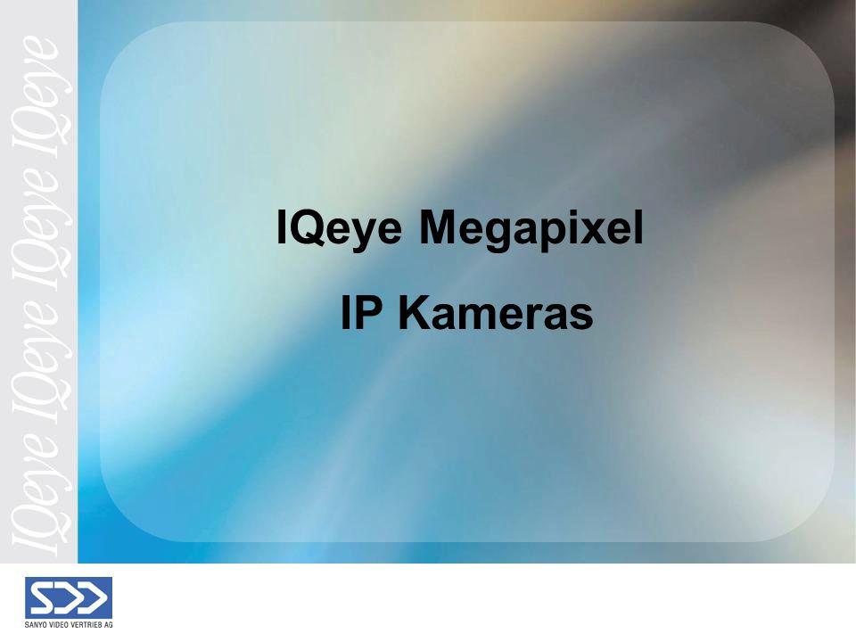 IQeye Megapixel IP Kameras