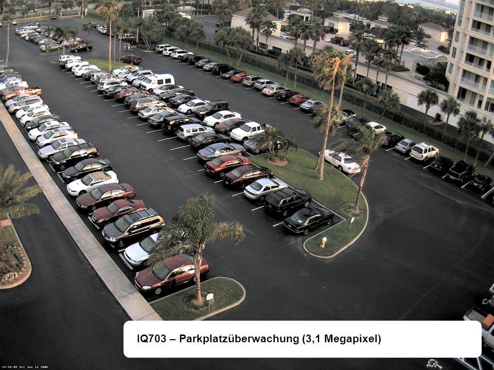 IQ703 – Parkplatzüberwachung (3,1 Megapixel)