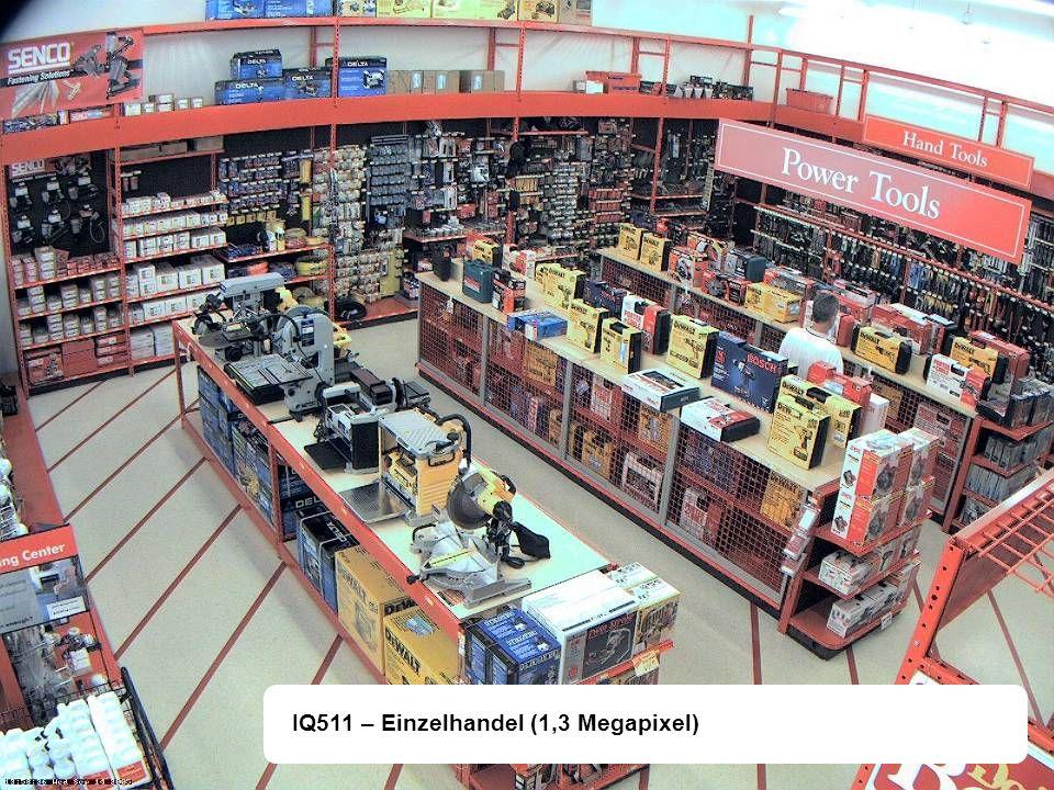 IQ511 – Einzelhandel (1,3 Megapixel)