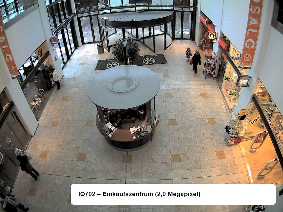 IQ702 – Einkaufszentrum (2,0 Megapixel)
