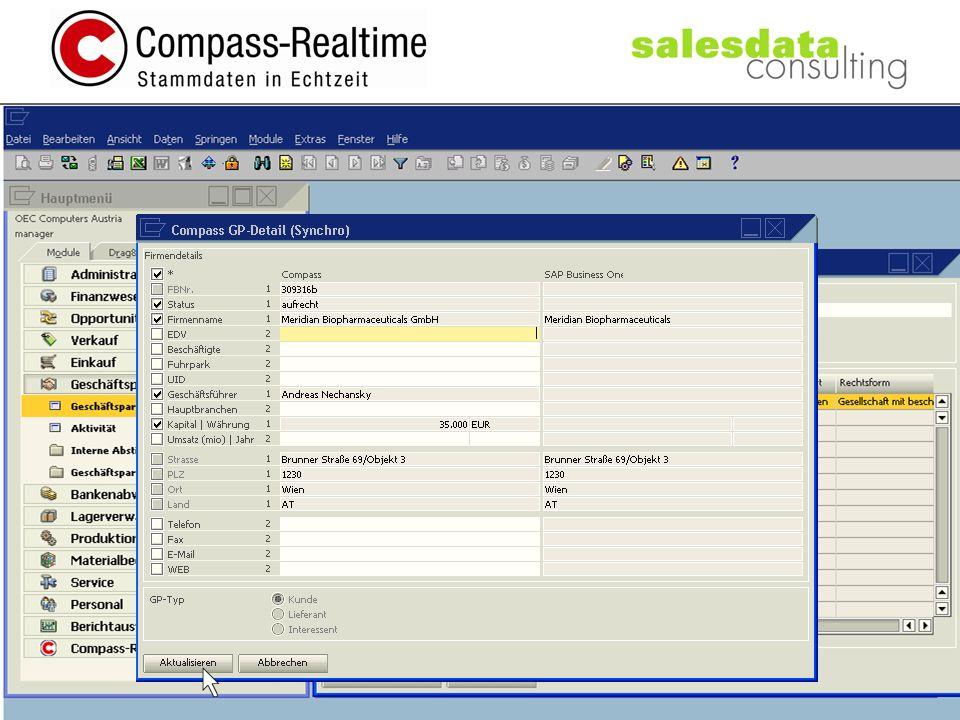 salesdata consulting salesdata consulting office@salesdataconsulting.com, +43-660-812 23 15, Königstetterstraße 26, A-3424 Wipfing