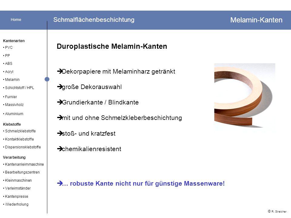 Home Acryl Kleinmaschinen Verarbeitung Kantenarten PP Schmelzklebstoffe Furnier ABS © R.