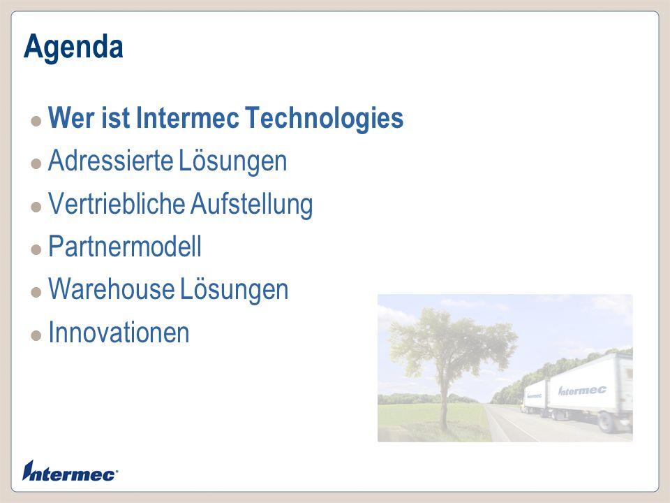 Wer ist Intermec Technologies Intermec stellt Expertise, Produkte & Dienstleistungen zur Verfügung, die den Kunden in die Lage versetzen, wichtige Unternehmensressourcen zu identifizieren, zu verfolgen und zu verwalten.