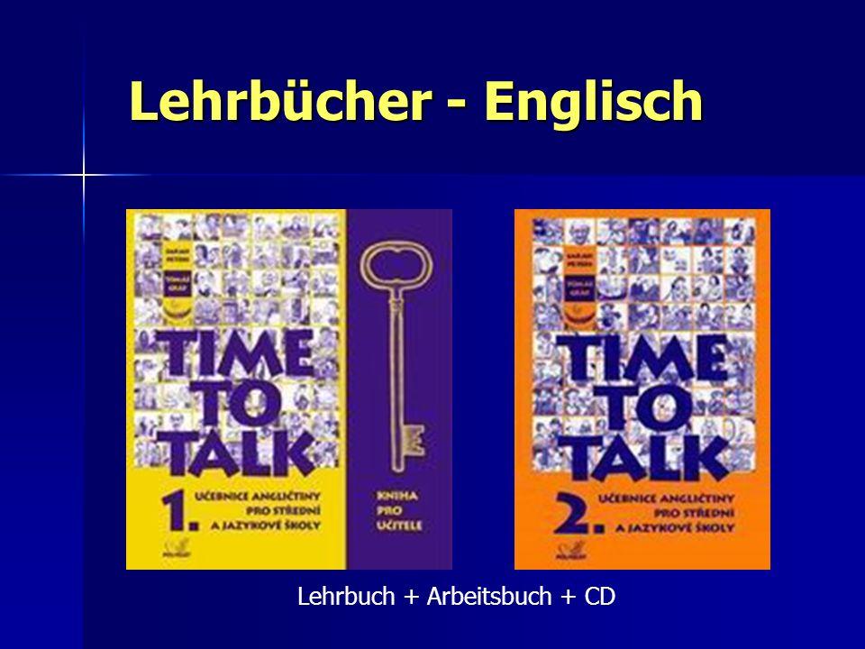 Lehrbücher - Englisch Lehrbuch + Arbeitsbuch + CD