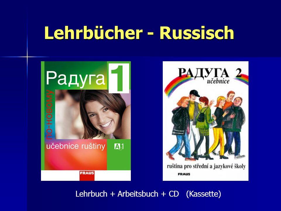 Lehrbücher - Russisch Lehrbuch + Arbeitsbuch + CD (Kassette)