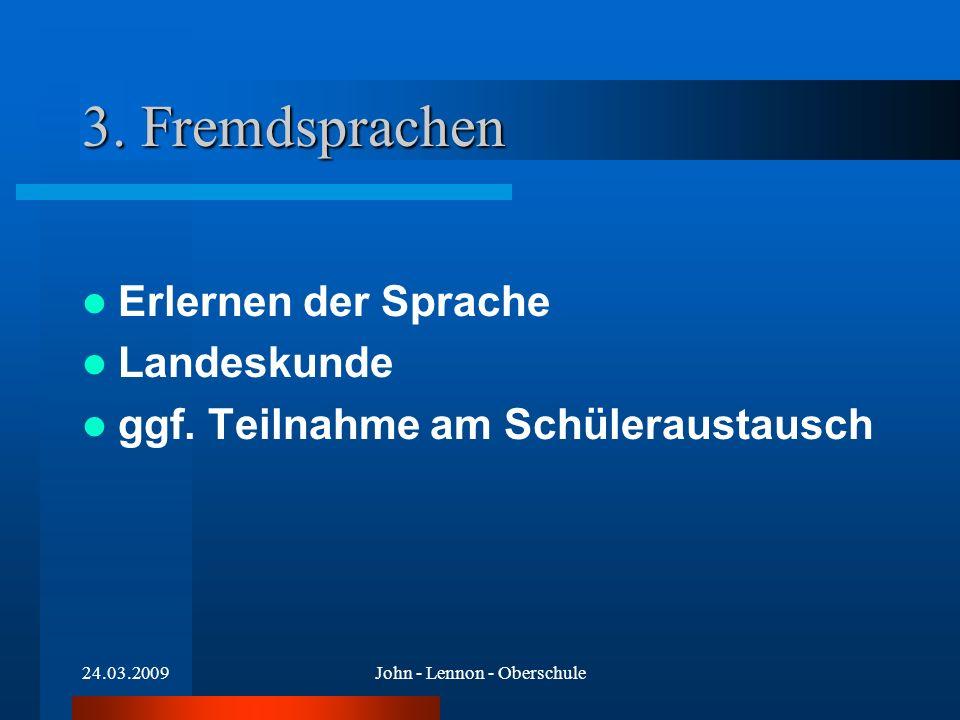 24.03.2009John - Lennon - Oberschule Kursangebot Informatik FÜR WEITERE INFOS... Herr Kühn