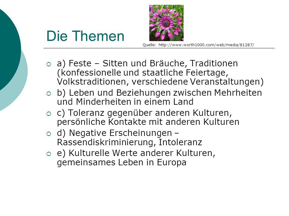 Feste Sitten und Bräuche, Traditionen (konfessionelle und staatliche Feiertage, Volkstraditionen, verschiedene Veranstaltungen) Quelle: http://www.paritaet.org/via/ueber-via/pxQuelle: homepage.mac.com/ jcs/home/wedding/ Quelle: http://www.geocities.com/ensembleskopje/ Quelle: http://www.astolat.demon.co.uk/og/gallery/dances/ Quelle: http://twoday.net/static/Kobersdorf/images/
