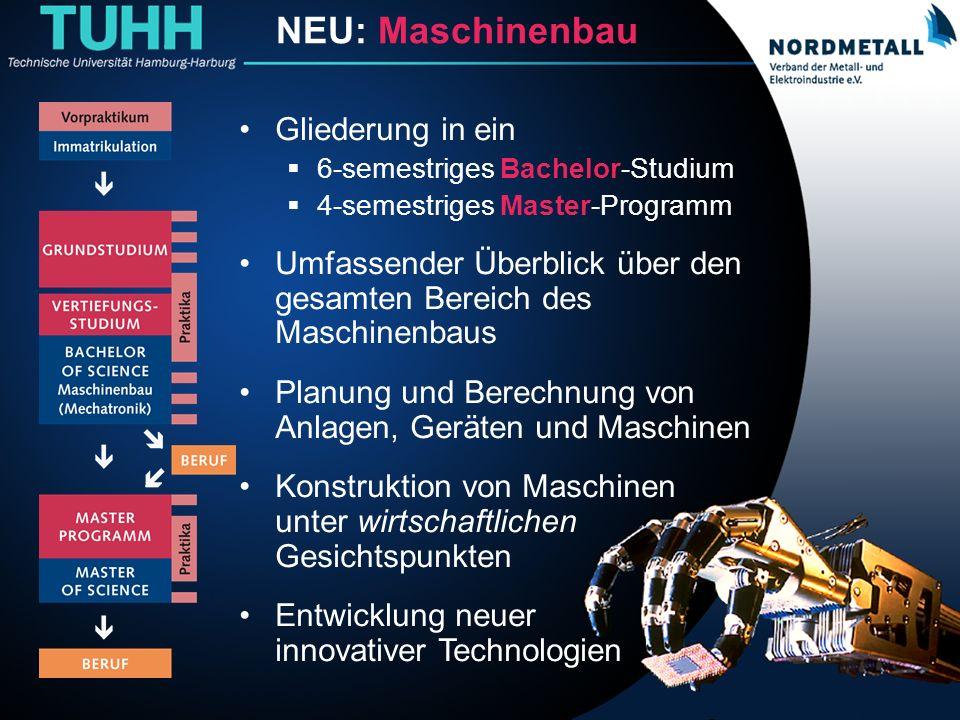 Bachelor: Maschinenbau/Mechatronik (0) B A C H E L O R Maschinenbau