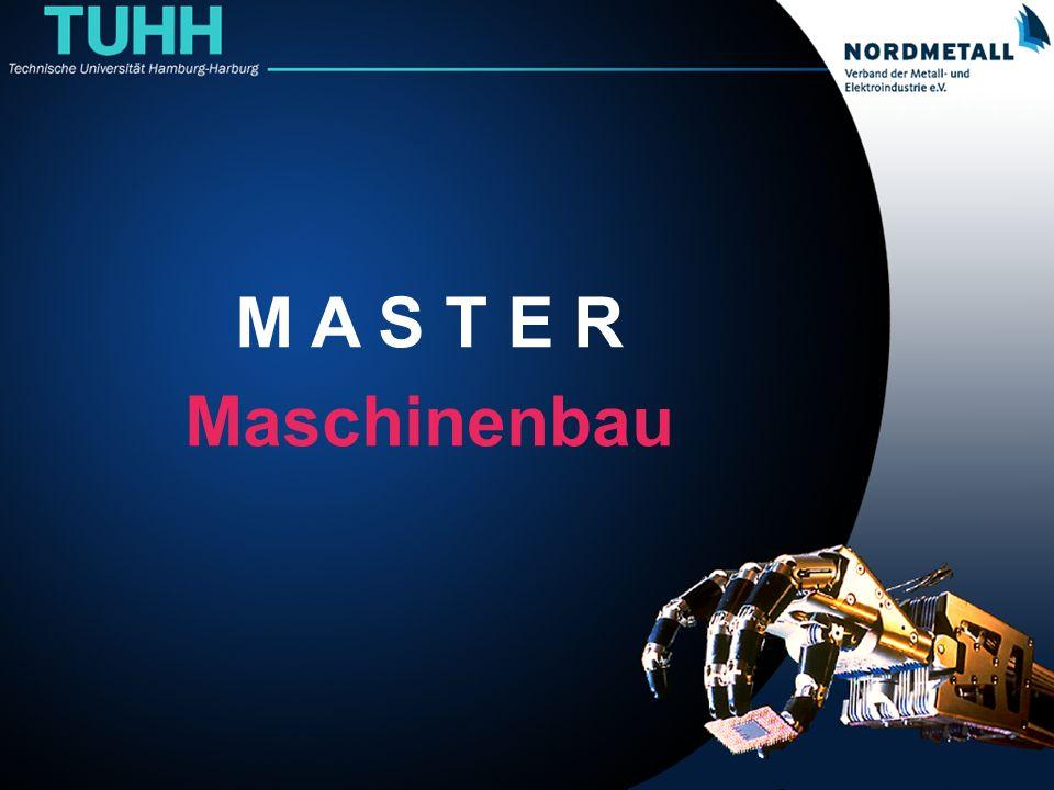 Master: Maschinenbau/Mechatronik (0) M A S T E R Maschinenbau