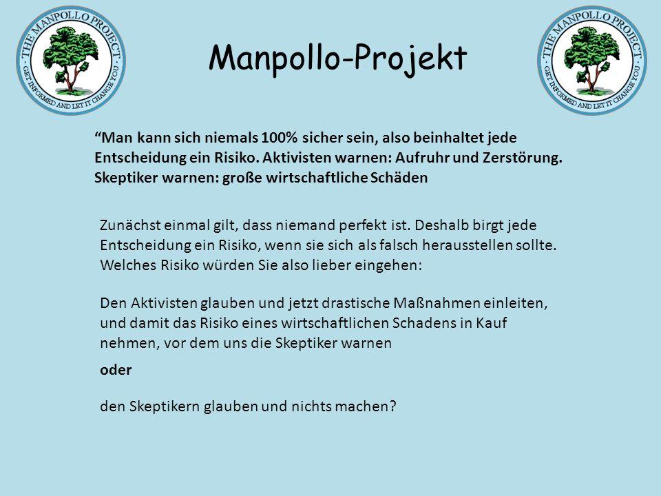 Entscheidungsfindung bei unklarer Informationslage Manpollo-Projekt