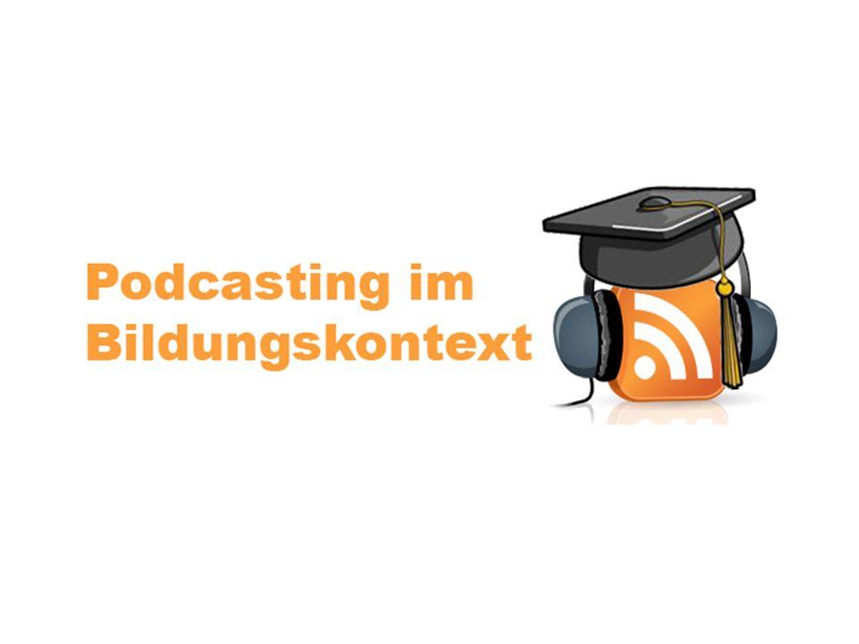 Hallo.Herzlich Willkommen zum Podcasting im Bildungskontext Seminar.