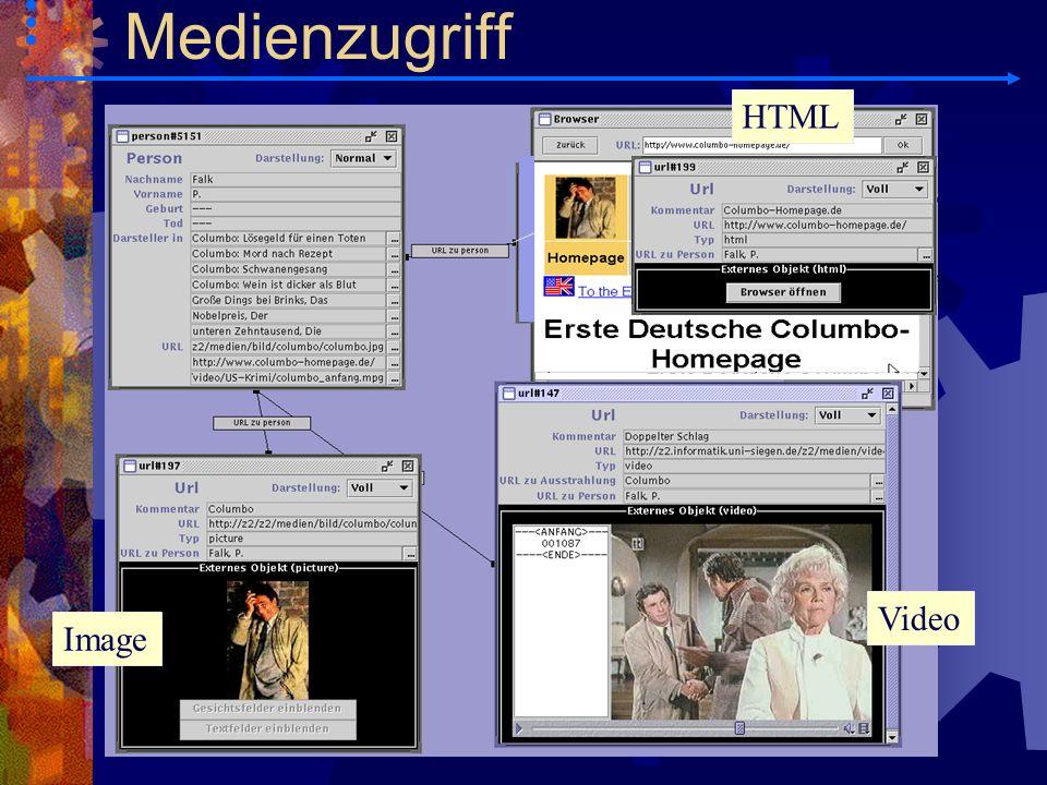 Video Image HTML Medienzugriff