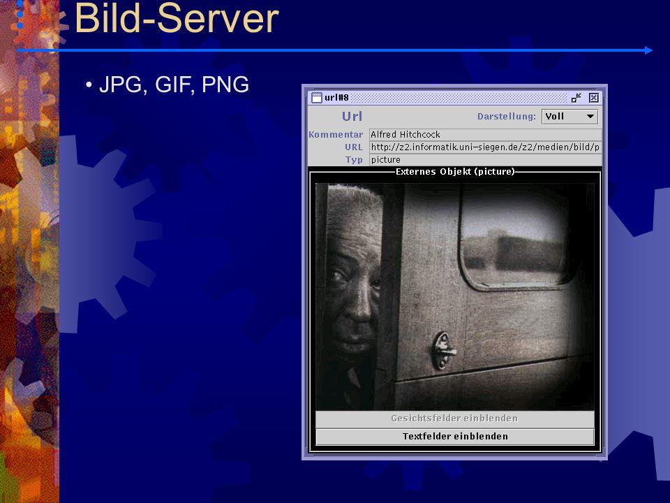JPG, GIF, PNG Bild-Server