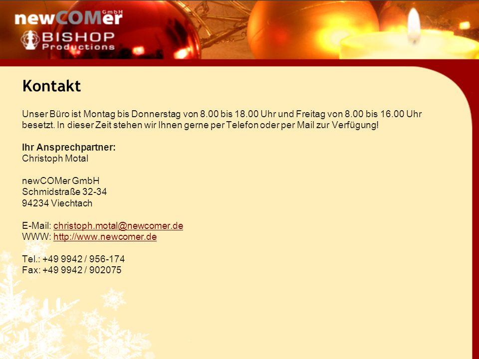 Entscheiden Sie sich noch heute für den newCOMer-Adventskalender und bringen Sie Ihre Website in vorweihnachtliche Stimmung.