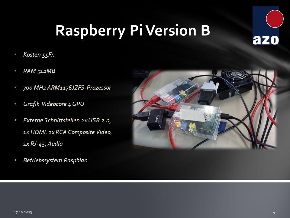 5 Die ersten Probleme Anfangs nahmen wir uns für unser Projekt vor, ein Cluster aus Raspberrys zu erstellen.
