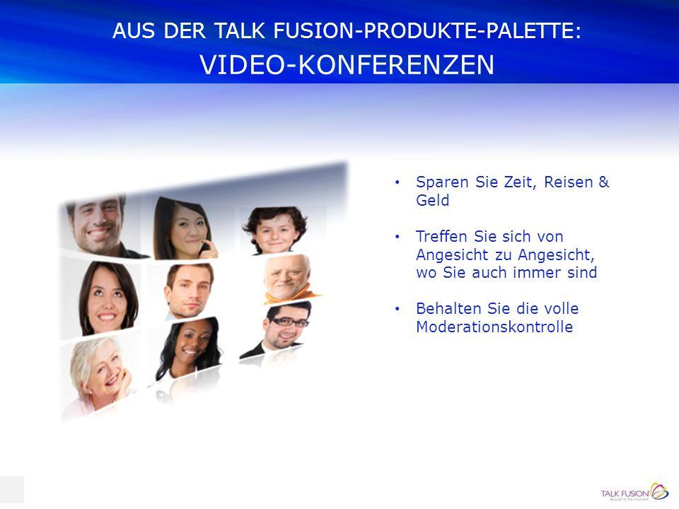 AUS DER TALK FUSION-PRODUKTE-PALETTE: AUTOMATISCHE VIDEOANTWORTEN Kontaktieren Sie Ihre Kunden sofort und automatisch, gezielt zu von Ihnen gewählten