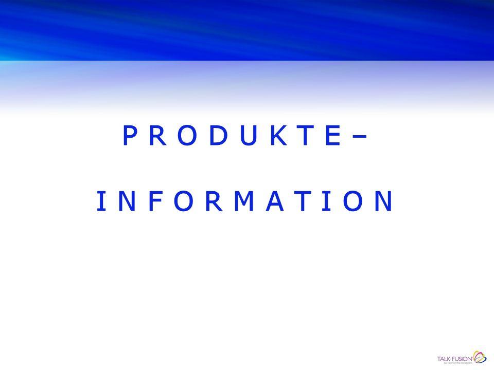 AUS DER TALK FUSION-PRODUKTE-PALETTE: VIDEO-BLOG, VIDEOS TEILEN, FUSION WALL Seien Sie dem Video – Trend voraus Verbessern Sie Ihre Suchmaschinenergebnisse Mit einem Klick auf 200 Seiten posten Zeigen Sie Ihre Marke in einem neuen Netzwerk Eine neue Evolution im Bereich der sozialen Medien